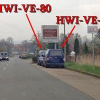 Habe mal dein Bild bearbeite Mephisto, beide blauen VW Caddys zusammen auf Beutezug (HWI-VE-30) + (HWI-VE-80).