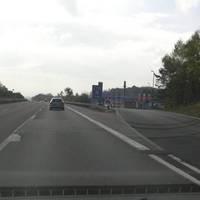 PSS am Rastplatz Grossenmoor, A7 FR süd. im Bereich 100 Km/h