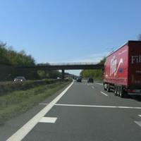 Abstandsmessung FR Heilbronn von Nürnberg kommmend