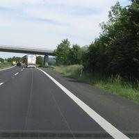 ESO 3.0 B29 FR Aalen zwischen Remshalden und Winterbach unter der Brücke, Messfahrzeug VW Bus WN-LW6050
