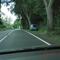 hellblauer VW Caddy OHV ZS 987 steht etwa 250 m hinter der Autobahnabfahrt(Berliner Ring) und blitzt in Fahrtrichtung  Mühlenbeck