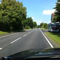 Aus Richtung Marburg kommend