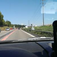 Fahrt Richtung St. Gallen