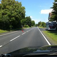 Aus Richtung Marburg