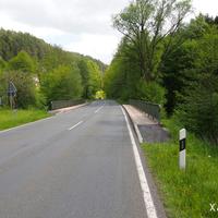 Von Forchheim / Ebermannstadt kommend befindet sich die Kontrollstelle knapp 2 km hinter Tüchersfeld.