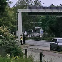 Hauptsache kassieren, Freitag Nacht für Freitag Nacht. Diesesmal Laserpistolen Messung der Polizei Braunschweig auf der Wolfenbütteler Straße, stadteinwärts. Höhe dem Abzweig Riedestraße. 50 kmh.
