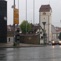 Aufnahme aus Aidlinger Str. in Richtung Schulstr.