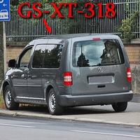 Blitzer auf der Celler Straße, beim Klinikum, stadteinwärts. 50 kmh. Grauer VW Caddy Maxi (GS-XT-318), auf der rechten Seite nach der Fußgängerampel.