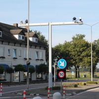 Stationäre Kennzeichen kontrolle auf der N280/B230