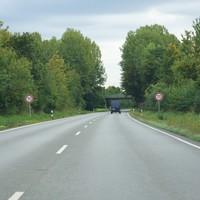 Messung in Richtung Erlangen