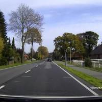 Hier jetzt in Fahrtrichtung Nienburg gedreht