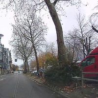 Blitzer 10 Meter weiter hinter dem Fahrrad