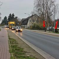 Am OA sowie OE Lehre, aus und in Richtung Wolfsburg. 50 kmh. Beidseitige ESO Anlage. Der beige VW T 5 (HE-QF-793), stand linke Seite in der Sackgasse, parkend im absoulutem Halteverbot, wie immer Vorbildlich.