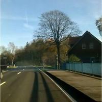 Die Aufnahme zeigt den neuen Blitzer auf der B188 in Fahrtrichtung nach Gifhorn(Osten)