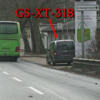 Wie üblich, Blitzer auf der Wolfenbütteler Straße, stadtauswärts, auf der rechten Seite in dem Parkstreifen, direkt nach der Litfasssäule, steht der graue VW Caddy Maxi (GS-XT-318). 50 kmh.