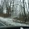 B243 Richtung Nordhausen, Nähe Bad Grund auf dem Parkplatz in einer Rechtskurve! Kaum zu sehen! Man erkennt höchstens den Bulli auf dem Parkplatz