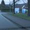 ESO Lichtschranke hinter Bäumen, Ortseinwärts @50 im Kreuzungsbereich. Hier sind 50 fast schon zu viel...