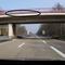 Heute auf der Brücke an der AS-Dorfmark, beide Richtungen, jeweils die Linke Spur, 120 km/h beide Richtungen, wie immer sehr schwer zu sehen. Autos so halb von der Autobahn sichtbar. FR-Hamburg.