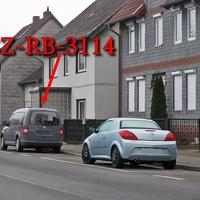 Wiedermals grauer VW Caddy Maxi (SZ-RB-3114) am OA SZ Immendorf auf der B 248 Richtung SZ Thiede. 50 kmh.