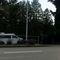 ESO Lichtschranke, Messung Waiblinger Straße beidseitig, Messfahrzeug VW Bus auf Parkplatz neben der Straße
