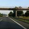 B29 FR Stuttgart letzte Brücke vor Ausfahrt Winterbach. Für das Messfahrzeug hat man sich ein schattiges Picknickplätzchen ausgesucht.