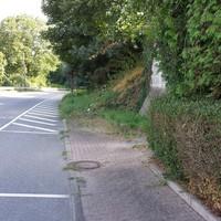 Blitzer beidseitig Ortseinfahrt/Ausfahrt Rückershausen.