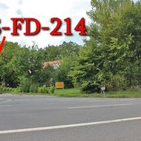 B 82 Immenrode Richtung Goslar, in 70iger Zone nach Immenrode, an der Einfahrt zur Mühlenbergsiedlung, Einseitenmesssensor der Firma ESO. Der Messsensor steht im Gebüsch, die Kamera nach einem Baum, alles aus Fahrtrichtung erst beim rotem Blitz sichtbar. Dazu gehört ein silberner VW Caddy Maxi (GS-FD-214).