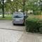 dieses Mal in die andere Richtung, von der A2 Rtg. Rosenthal fahrend, 50! Der Apparat stand direkt neben der Ampel, der Messwagen auf dem Parkplatz dahinter