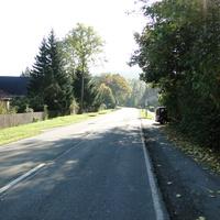 Wernigerode Rtg. Elbingerode fahrend auf der B242, relativ auffällig geparkt hinter einer Hecke!