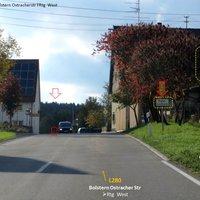 Ortseingang Ost mit Radarwarnung