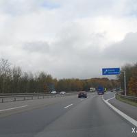 Unterwegs an der A 8 von Saarlouis nach Zweibrücken nähern wir uns der Abfahrt Neunkirchen-Heinitz