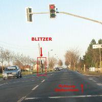 BLITZERSÄULE ( schwarz ) - neu 28-11-2015 EF - Stotternheimer Straße / Pelikanweg / Haßlebener Weg !! blitzt ein- und auswärts !!