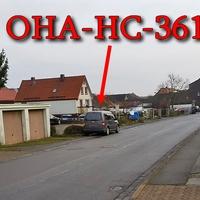 Grauer VW Caddy (OHA-HC-361), auf der Ringstraße, gegenseitig an den Garagen geparkt. Von der Steinaer Straße Richtung Rewe. 30 kmh erlaubt. Geblitzt wird mittels Leivtec aus dem Kofferraum raus.