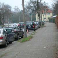 schwarzer CADDY, HH-CJ 2982, Richtung Stapelfeld