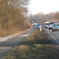 Verkehrskontrolle Richtung Hamburg-Rahlstedt