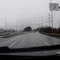 Nach Abfahrt Airport-Stadt Richtung A28.