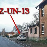 Weißer VW Golf 4 Variant (HZ-UN-13), in Harsleben höhe der Sparkasse / Kindergarten, aus Wegeleben kommend. 50 kmh.