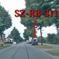 OA SZ Thiede B 248 am, gegenüber der Esso Tankstelle, auf der rechten Seite, in den Parkbuchten, grauer VW Caddy Maxi (SZ-RB-3114). 50 kmh. Wohlgemerkt stand dieser bereits um 5:30 Uhr Morgens blitzbereit.