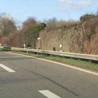 B14 @100 Fahrtrichtung Backnang PSS unmittelbar vor der Ausfahrt Waiblingen Süd auf Höhe der Lärmschutzwand