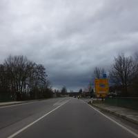 Ortseinfahrt Regenstauf von Regensburg kommend. Messung auf der B15 (Ortsdurchfahrt) bei der Norma.