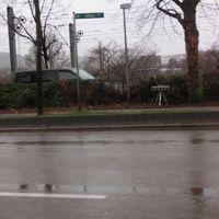 Mercedesstraße FR Schleyerhalle @50 igO ESO Lichtschranke mit zweispuriger Überwachung.