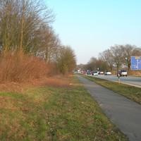 Verkehrskontrolle vor der Autobahn Richtung Siek