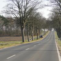 der bekannte Opel bei 70 Rtg. Abbensen fahrend, relativ auffällig geparkt!