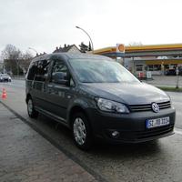 Messwagen des Ordnungsamtes SZ auf der Konrad Adenauer Straße gegenüber der Shell, 60 sind erlaubt!