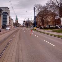 Ulm Olgastrasse, an der Abbiegung zur Platzgasse