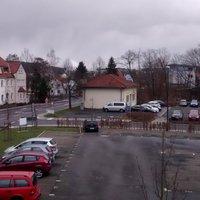 In Fulda im Gerloser Weg in Richtung Horas in der Tempo 30-Zone