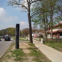 """13°39'24,00"""" (O) – 52°30'3,00"""" (N) Fester Blitzer 15366 Hoppegarten, Frankfurter Chaussee"""