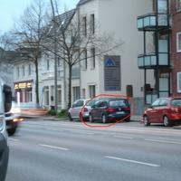 HH-KN 4591, Ahrensburger Straße 72, stadteinwärts