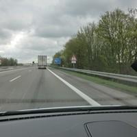 A6 FR Nürnberg zu Beginn der Kochertalbrücke, PSS @ 100 Km/h