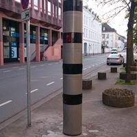 Talstraße, Messung in beide Richtungen, Tempo 30